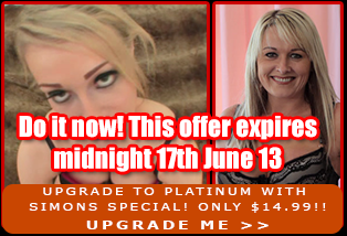 Upgrade to Platinum with Simons Special! Only $14.99!!